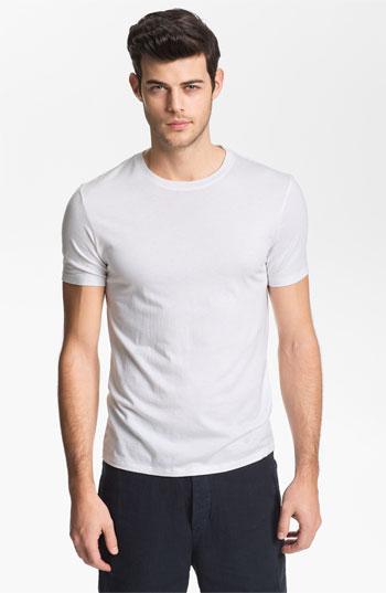 Vince Crewneck T-shirt White