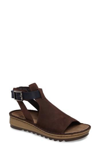 Women's Naot Verbena Sandal Us / 38eu - Brown