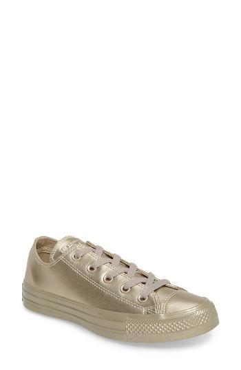 Women's Converse Chuck Taylor All Star Ox Liquid Sneaker M - Metallic