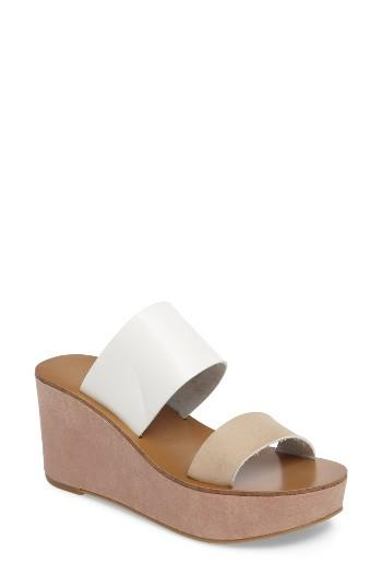 Women's Chinese Laundry Ollie Platform Wedge Sandal M - Brown