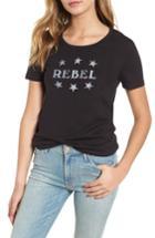 Women's Rebecca Minkoff Rebel Ava Tee - Black