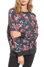 Women's Splendid Graphic Sweatshirt - Grey