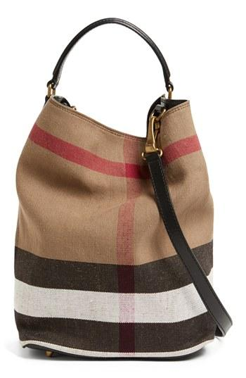 Burberry Brit 'susanna - Medium' Bucket