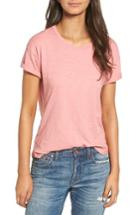Women's Madewell 'whisper' Cotton Crewneck Tee - Pink