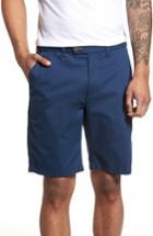 Men's Ted Baker London Print Cotton Shorts R - Blue