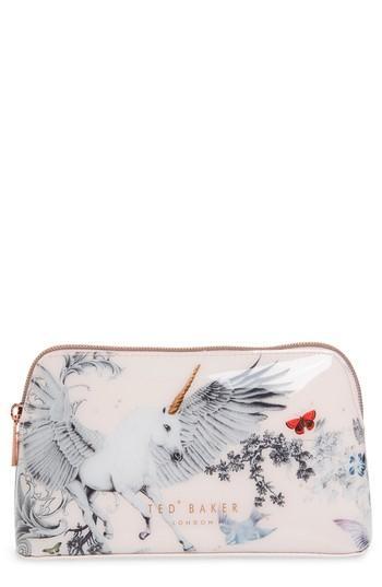 Ted Baker London Marissa Enchant Cosmetics Case, Size - Pale Pink
