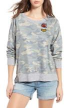 Women's Treasure & Bond Camo Sweatshirt