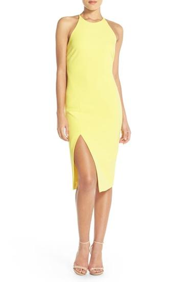 Women's Bardot 'cara' Cross Back Midi Dress