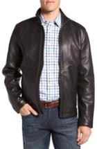 Men's Vince Camuto Leather Moto Jacket