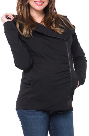 Women's Kendall + Kylie Asymmetrical Zip Puffer Coat
