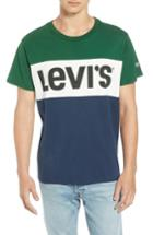 Men's Levi's Colorblock Vintage Logo Tee - Green