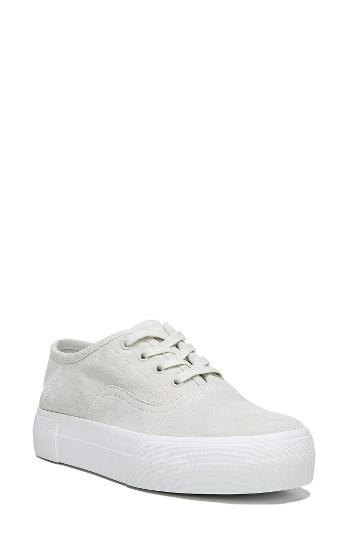 Women's Vince Copley Platform Sneaker M - White
