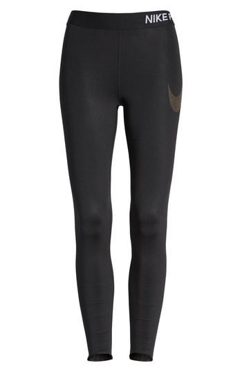 Women's Nike Pro Embossed Logo 7/8 Tights
