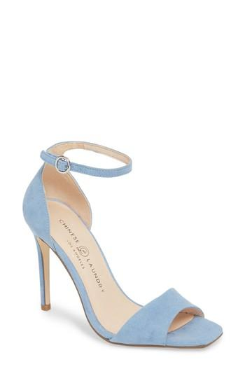Women's Chinese Laundry Julien Ankle Strap Sandal M - Blue