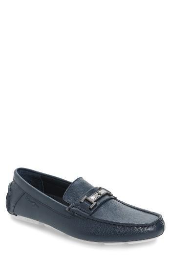 Men's Calvin Klein Magnus Driving Shoe .5 M - Blue