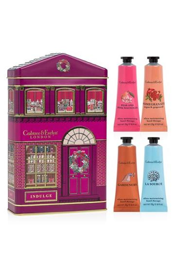 Crabtree & Evelyn Holiday House Tin Collection