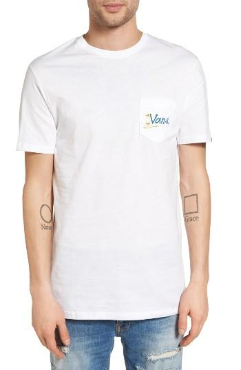Men's Vans X Yusuke Graphic Pocket T-shirt