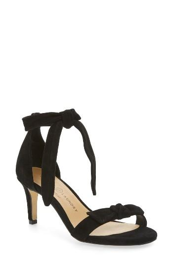Women's Chinese Laundry Rhonda Ankle Tie Sandal M - Black