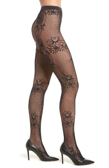 Women's Wolford Net Lace Tights