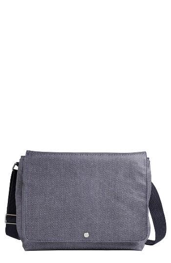 Men's Skagen Eric Coated Twill Messenger Bag -