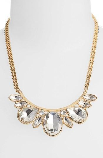 Nordstrom Crystal Bib Necklace (special Purchase)