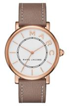 Women's Marc Jacobs Roxy Leather Strap Watch, 36mm