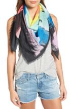 Women's Rebecca Minkoff Painterly Palm Square Scarf