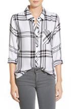 Women's Rails 'hunter' Plaid Shirt - White
