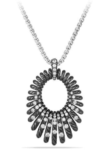 Women's David Yurman 'tempo' Necklace With Diamonds
