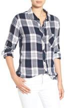 Women's Rails Hunter Plaid Shirt - Blue