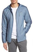 Men's Adidas Essentials Wind Jacket - Blue