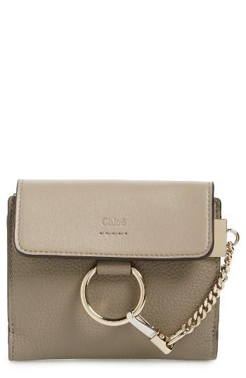 Women's Chloe Faye Leather Wallet -