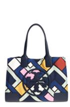 Tory Burch Ella Printed Mini Tote - Blue