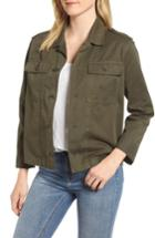 Women's Velvet By Graham & Spencer Workwear Cotton Jacket - Green