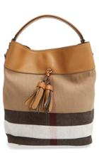 Burberry Medium Ashby Bucket Bag - Brown