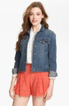 Women's Two By Vince Camuto Jean Jacket - Blue