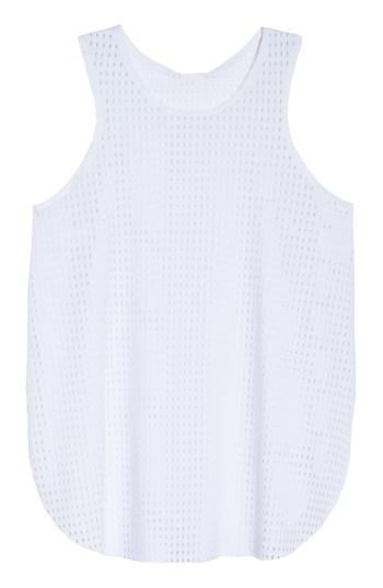 Women's Onzie Molly Tank, Size - White