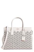 Kate Spade New York Cameron Street - Candace Perforated Leather Satchel -