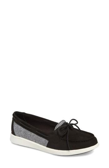 Women's Sperry Oasis Boat Shoe M - Black