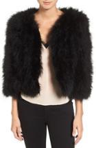 Women's Rebecca Minkoff Pacha Genuine Turkey Feather Jacket
