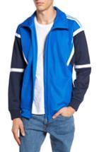 Men's Adidas Originals Water Resistant Training Track Jacket - Blue