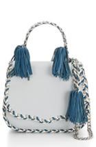 Rebecca Minkoff Chase Leather Saddle Bag - Blue