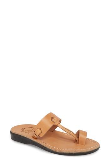 Women's Jerusalem Sandals David Toe-loop Sandal Us / 36eu - Beige