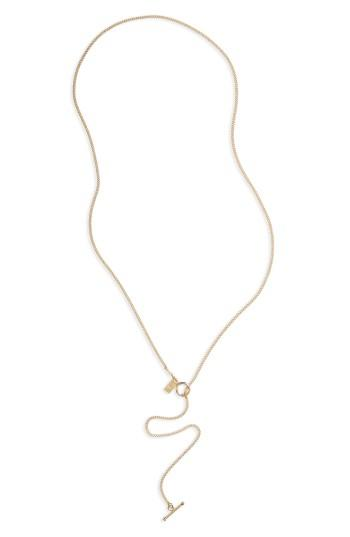 Women's Me To We Toggle Lariat Necklace