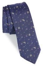 Men's Paul Smith Floral Bee Silk Tie