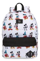 Men's Vans X Disney Mickey's 90th Anniversary - Mickey Through The Ages Backpack - White
