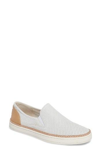 Women's Ugg Adley Slip-on Sneaker M - White