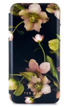 Ted Baker London Arboretum Iphone X/xs/xs Max & Xr Mirror Folio Case - Black