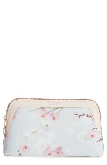 Ted Baker London Cherry Blossom Cosmetics Case