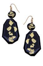 Women's Nakamol Design Oval Earrings